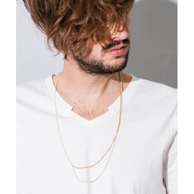 CMB by CAMBIO / an1617-2WAYロングネックレス MEN アクセサリー > ネックレス