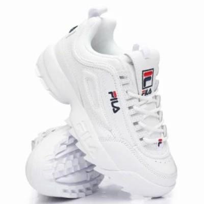 フィラ スニーカー disruptor ii premium sneakers White