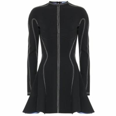 ミュグレー Mugler レディース ワンピース ワンピース・ドレス scuba minidress Black/Mugler Blue