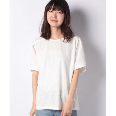 (Te chichi/テチチ)【Lugnoncure】綿スラブショルダータックプルオーバー/レディース オフ