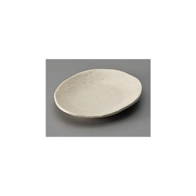 和皿(15〜12cm) 白志野変形皿(小) [15.2 x 12.8 x 2.2cm]  料亭 旅館 和食器 飲食店 業務用