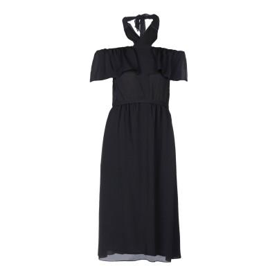 VANESSA SEWARD 7分丈ワンピース・ドレス ブラック 34 シルク 100% 7分丈ワンピース・ドレス