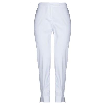 PESERICO SIGN パンツ ホワイト 40 コットン 96% / ポリウレタン 4% パンツ