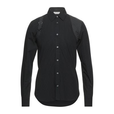 アレキサンダー マックイーン ALEXANDER MCQUEEN シャツ ブラック 15 ½ コットン 100% シャツ
