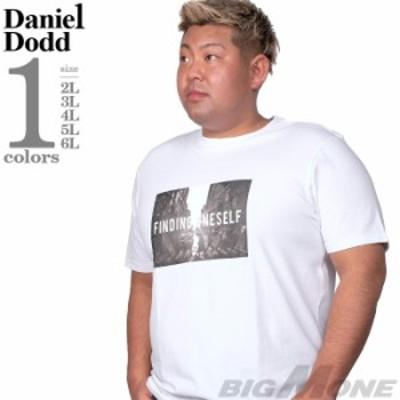 大きいサイズ メンズ DANIEL DODD フォト プリント ストレッチ 半袖 Tシャツ FINDING ONE SELF azt-200294
