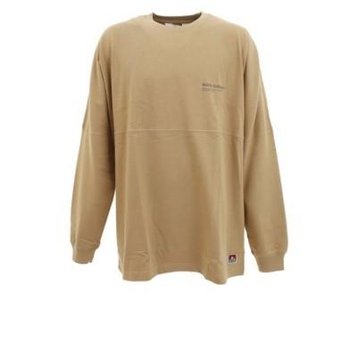ベンデイビス(BEN DAVIS)ワイドフットボーラー 長袖Tシャツ 0780043-BEG