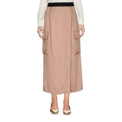 GOLD CASE 7分丈スカート サンド 40 レーヨン 72% / 麻 28% 7分丈スカート