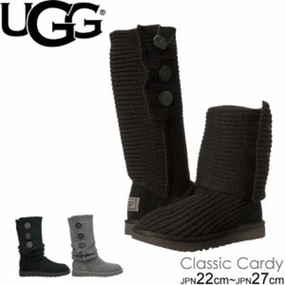 アグブーツ新作 ニットブーツ ムートン クラシック カーディ UGG CLASSIC CARDY 5819