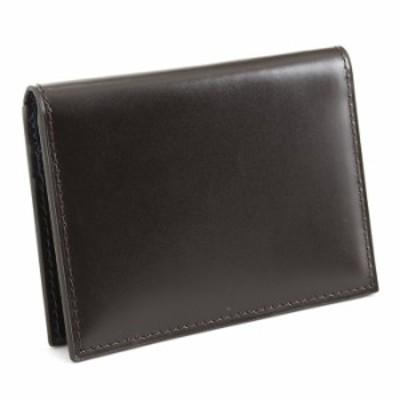 ランバンコレクション パスケース 定期入れ カードケース チョコ LANVINcollection jlmw4bp1-20 メンズ 紳士