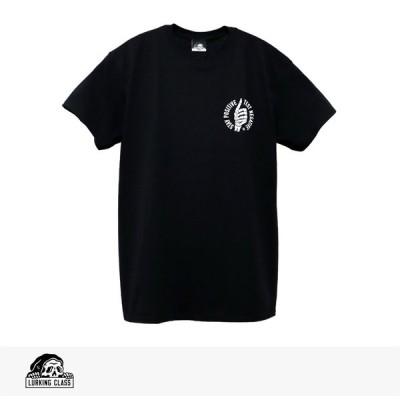 ラーキングクラス LURKING CLASS STAY POSITIVE TEE 2020 SPRING 半袖 Tシャツ ショートスリーブ プリント ロゴ スケッチータンク SKETCHY TANK ブラック