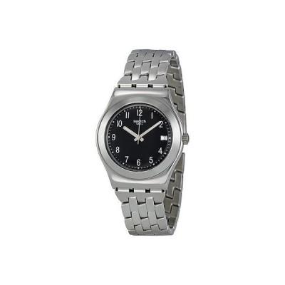 腕時計 スウォッチS腕時計 Irony Follow Ways スチール バンド デイト レディース 腕時計 35ミリ YLS437G 120