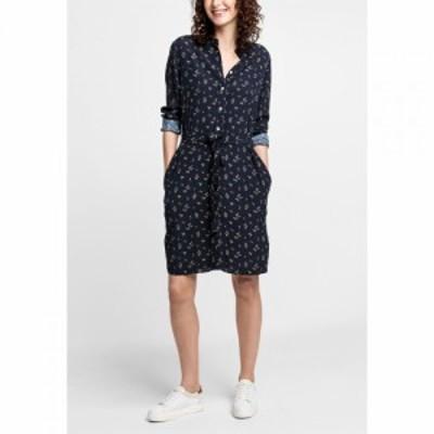 ガント Gant レディース ワンピース シャツワンピース ワンピース・ドレス Breezy Shirt Dress MARINE