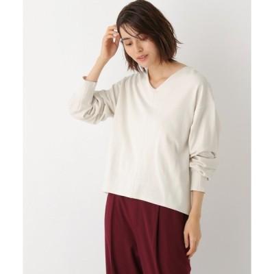 tシャツ Tシャツ デザインスリーブVプルオーバー 894260