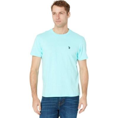 ユーエスポロアッスン U.S. POLO ASSN. メンズ Tシャツ トップス Crew Neck Small Pony T-Shirt Pool Bar