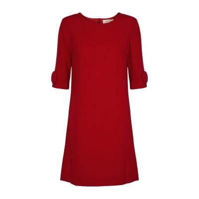 ゴート GOAT ミニワンピース&ドレス レッド 4 ウール 100% ミニワンピース&ドレス