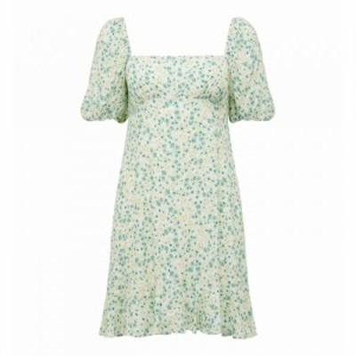 フォーエバーニュー Forever New レディース ワンピース サンドレス ワンピース・ドレス Veronica Puff Sleeve Sun Dress Riviera Ditsy