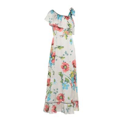 セミクチュール SEMICOUTURE ロングワンピース&ドレス ベージュ 46 ポリエステル 100% ロングワンピース&ドレス