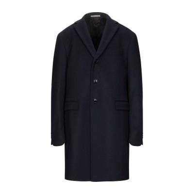 パオローニ PAOLONI コート ダークブルー 58 バージンウール 80% / ナイロン 20% コート
