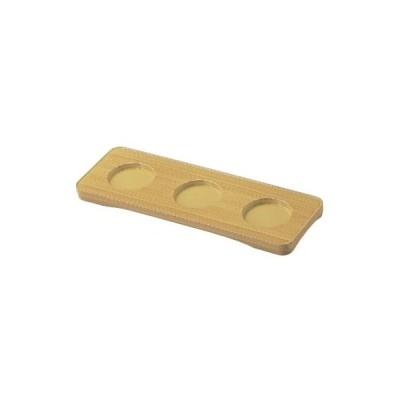 珍味 三点珍味台白木 幅261 奥行91 高さ16 /業務用/新品