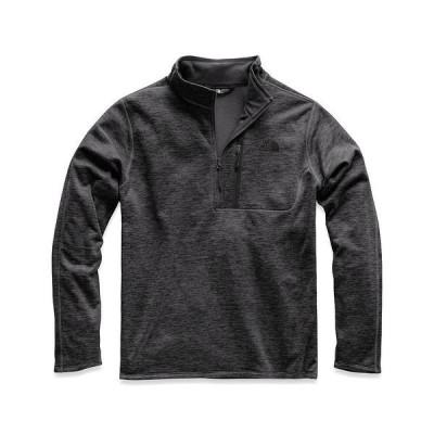 ノースフェイス メンズ ニット&セーター アウター Long-Sleeve Canyonlands Zip Snow Pullover TNF Dark Grey Heather