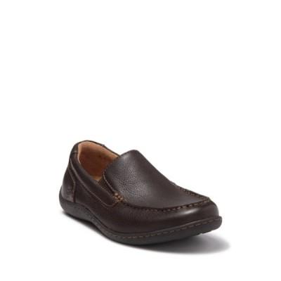 ボーン メンズ スリッポン・ローファー シューズ Eberhard Leather Loafer DARK BROWN