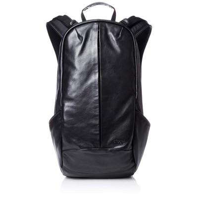 アフェクタ リュック SMOOTH BAG PACK LEATHER ver 撥水加工 A4収納 Black