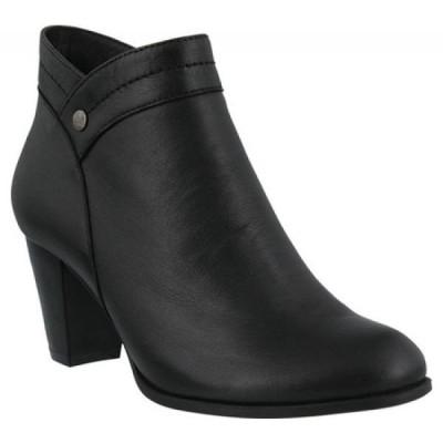スプリングステップ Spring Step レディース ブーツ シューズ・靴 Itilia Bootie Black Leather