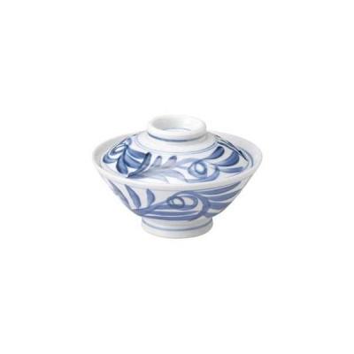 和食器 ユ352-517 古染唐草のり茶(身)