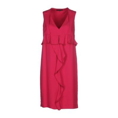WALTER VOULAZ ミニワンピース&ドレス ガーネット 40 レーヨン 54% / 指定外繊維(テンセル)  46% ミニワンピース&ドレス