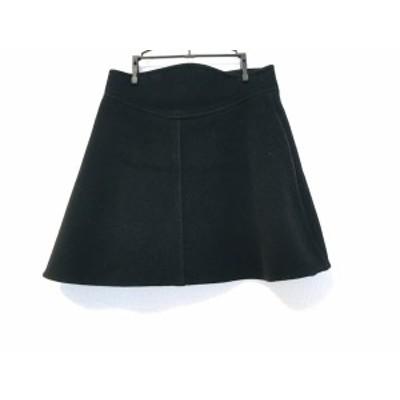 カルヴェン CARVEN スカート サイズ38 M レディース 黒【中古】20200423