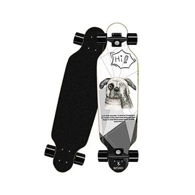 DALLL Skateboard Complete 31X8 Inch 8-Layer Maple Deck Longboard Skateboards for Beginners Standard Skate Board Pro Trick Skateboards for Ki