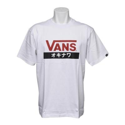 【VANS】 ヴァンズ OKINAWA S/S TEE ショートスリーブ VANS-OKABC WHITE XL ホワイト