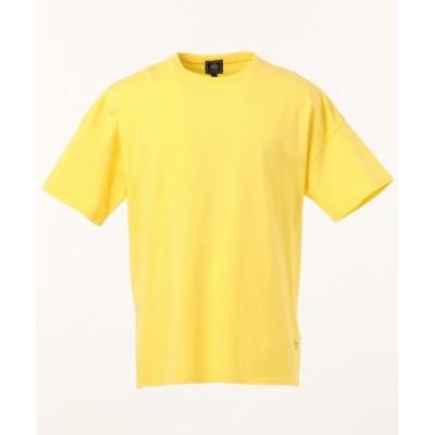 【J.プレス メンズ】 天竺 IRVING E.PRESS Tシャツ/カットソー メンズ イエロー系 L J.PRESS MENS
