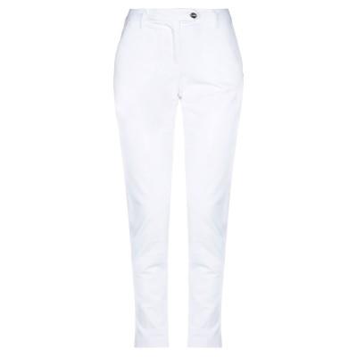 HAPPY25 パンツ ホワイト 40 コットン 97% / ポリウレタン 3% パンツ