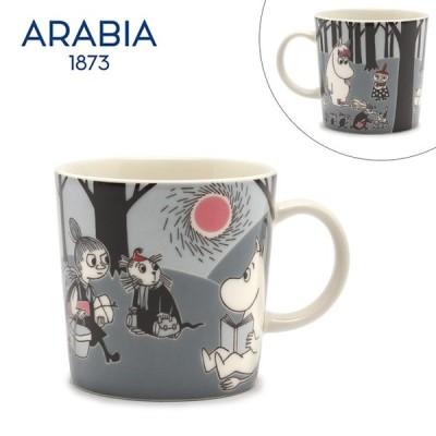 アラビア マグカップ ムーミン マグ 0.3L ARABIA 1006331 ホワイト 白 グレー 雑貨 おしゃれ 可愛い 母の日 2021 春 夏 父の日