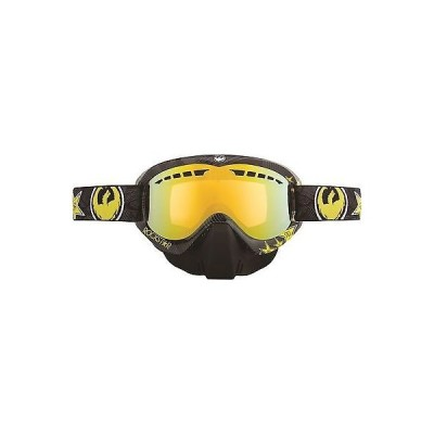 バイク関連グッズ 海外セレクション ドラゴン MDX スノーモービル ゴーグル Dual Pane ウインター Anti-fog レンズ Nose Guard スノー New Rockstar Gold Ion
