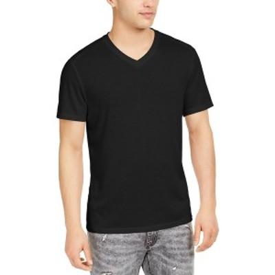 アイエヌシーインターナショナルコンセプト メンズ Tシャツ トップス I.N.C. Men's Perform V-Neck T-Shirt, Created for Macy's Deep Bl