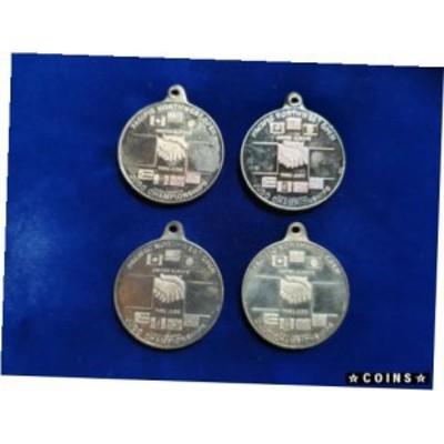 金貨 銀貨 硬貨 シルバー ゴールド アンティークコイン 4 1989 Vintage 1 oz Northwest Territorial Mint .999 Silver Judo Medal Art Ro