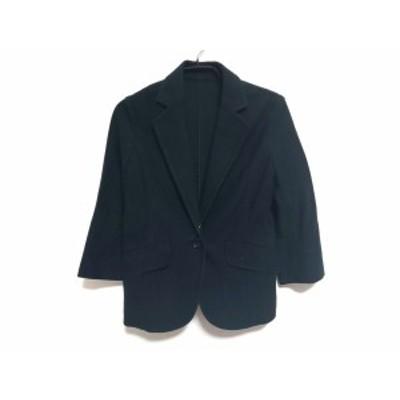 グリーンレーベルリラクシング green label relaxing ジャケット サイズ36 S レディース 黒 春・秋物【中古】20191017