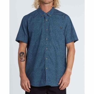 ビラボン Billabong メンズ 半袖シャツ トップス Sundays Mini SS Shirt Dark Blue