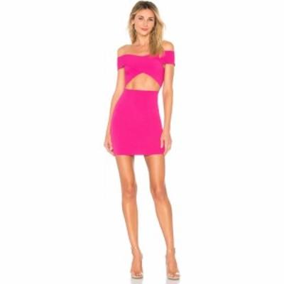 スーパーダウン superdown レディース ワンピース ミニ丈 ワンピース・ドレス Hallie Cut Out Mini Hot Pink