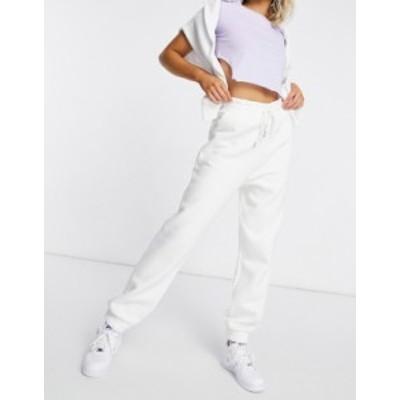 エイソス レディース カジュアルパンツ ボトムス ASOS DESIGN super oversized sweatpants in winter white Winter white