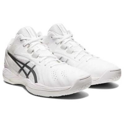 アシックス ASICS ゲルフープ V13 ワイド バスケットボールシューズ [サイズ:23.0cm] [カラー:ホワイト×ピュアシルバー] #1063A033-100 GELHOOP V13 WIDE
