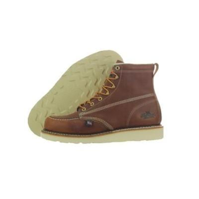 ソログッド Thorogood 6 Inch Moc Toe ウエッジ Non-Safety 814-4200 ブラウン ブーツ ミディアム (D, M) メンズブーツ