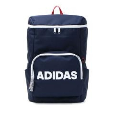adidas(アディダス)【セール】アディダス リュック スクエア adidas スクールバッグ リュックサック デイパック 通学 バッグ バックパック スクール スポーツ B4 22L メンズ レディース 部活 男子 女子 中学生 高校生 57594 通学リュック トリコロール(10)