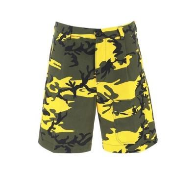プラダ メンズ カジュアルパンツ ボトムス Prada Camouflage Print Shorts -