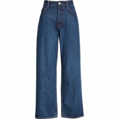 バレンシアガ BALENCIAGA レディース ジーンズ・デニム ボトムス・パンツ High Waist Straight Leg Jeans Daddy Wash