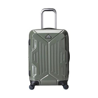 [グレゴリー] スーツケース 公式 クアドロ ハードケース ローラー 22 タイムグリーン【並行輸入品】