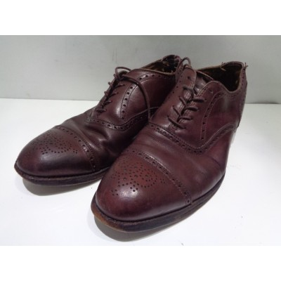 """ALDEN オールデン""""903"""" メダリオンストレート チップ レザー シューズ SIZE-28.5cm 革 靴 ブランド古着【中古】"""