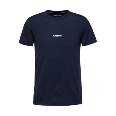 マムート(MAMMUT) メンズ ロゴ プリント Tシャツ QD Logo Print T-Shirt AF マリン プリント1 1017-02011 50364 アウトドアウェア カジュアル 半袖 トップス